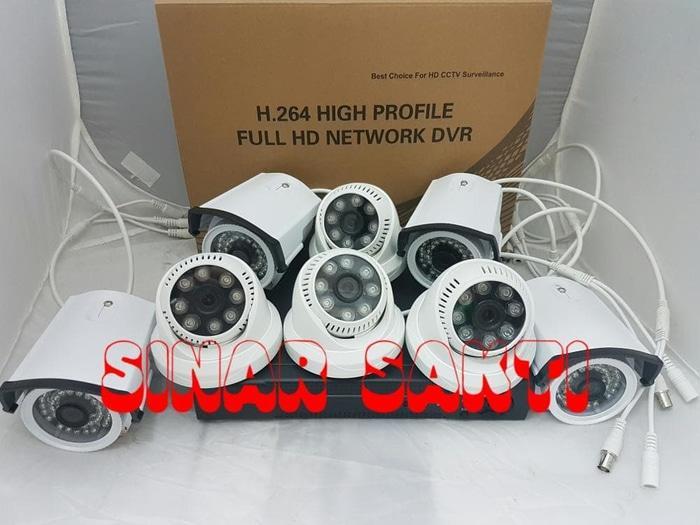 Promo Paket Cctv 8 Camera 3MP    Siap pasang Komplit Murah Terlaris di Lazada
