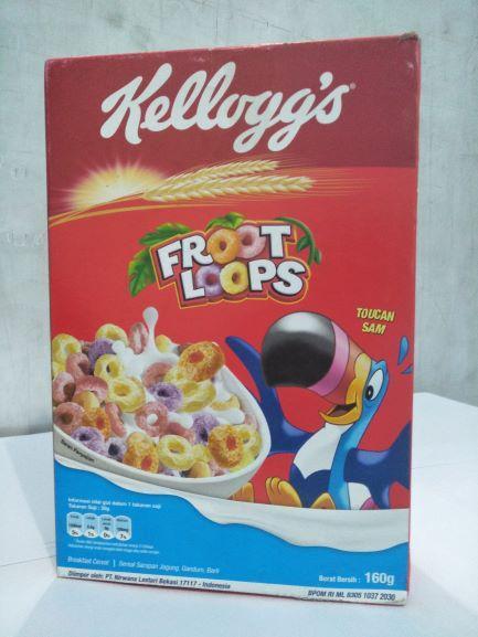 Kelloggs Froot Loops 160 gr - Sereal