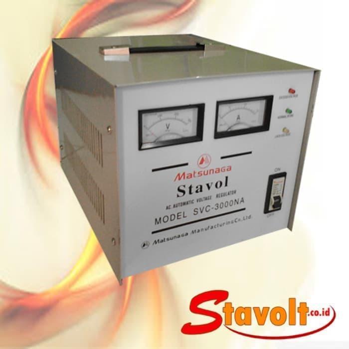 Matsunaga Stabilizer/stavol Listrik 3000 Va/watt By Wahana Electrik.
