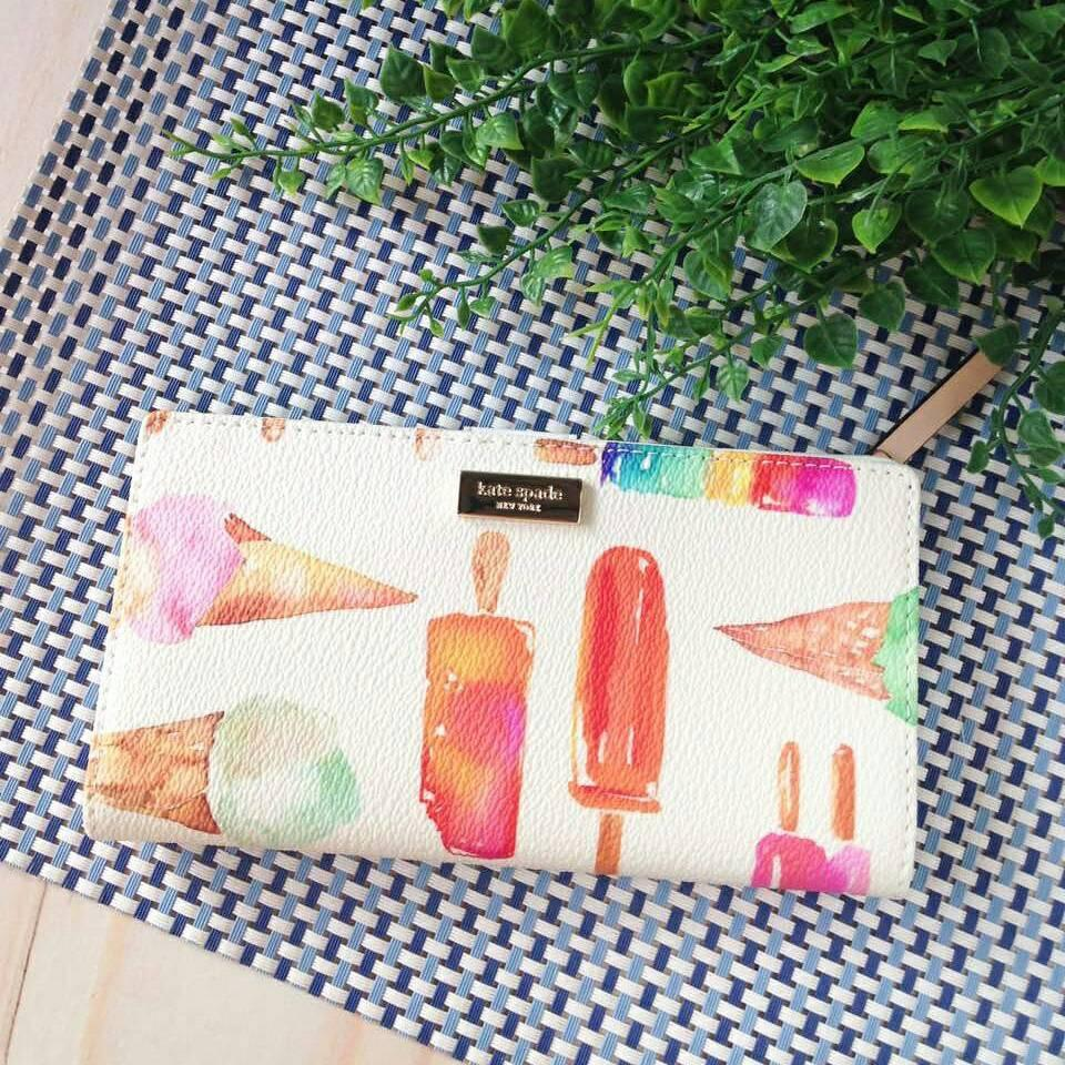 Dompet Kate Spade Stacy Ice Pop NWT. Dompet Branded Original