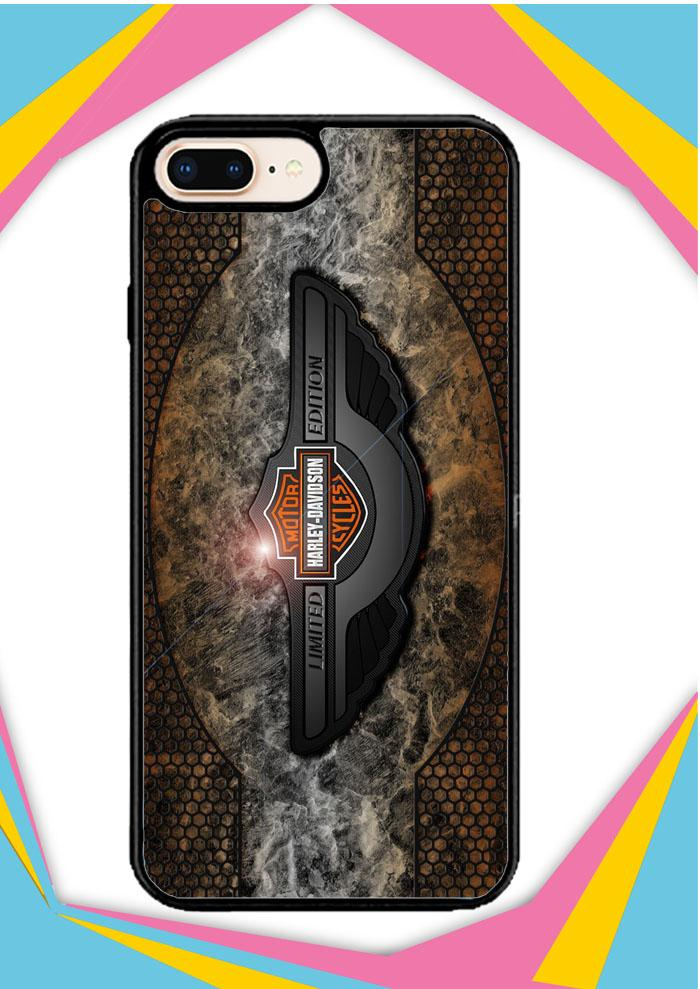 Casing iPhone 7 Plus Custom Hardcase Harley Davidson Limited Edition Z4794 Case Cover