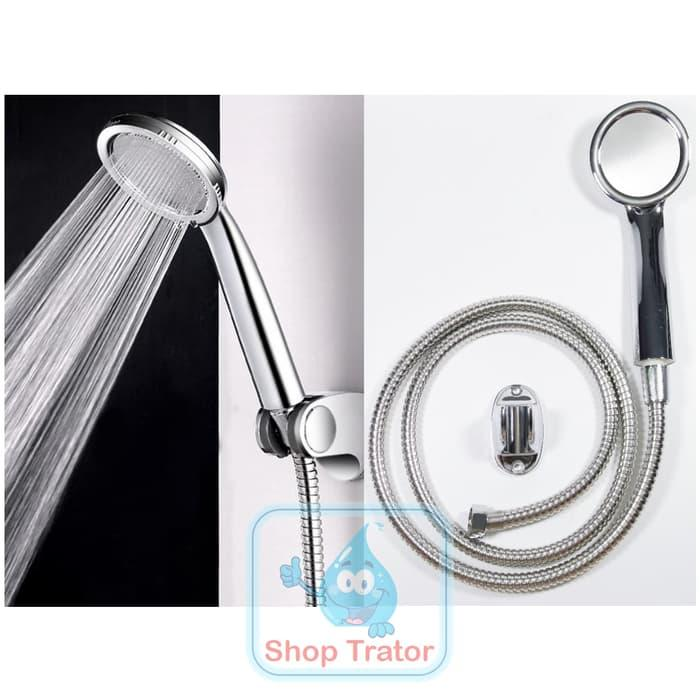 Super Shower Hemat Air Murah - Hand Shower Shower Mandi Turbo By Shoptrator.