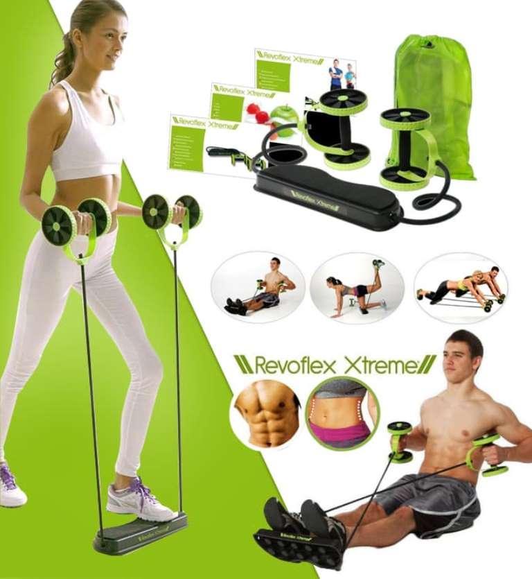 Sien Collection Alat Fitness Revoflex Xtreme Ii / Alat Gym / Alat Olahraga Dirumah / Pelangsing Perut Lengan / Revoflex Xtreme Portable / Peralatan Fitness Murah By Sien Collection.