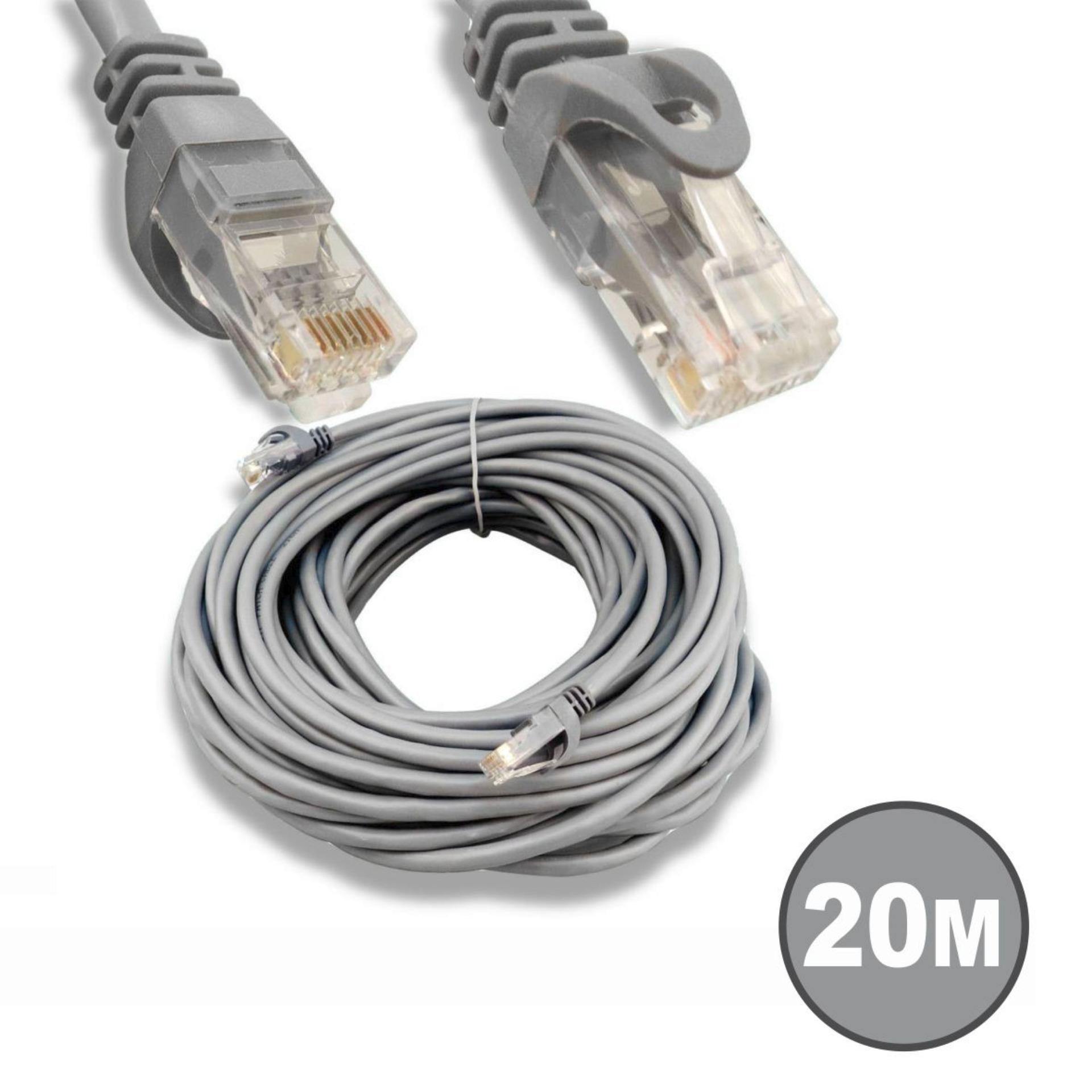 WEI TECH KABEL LAN JADI CAT 5E 20 METER