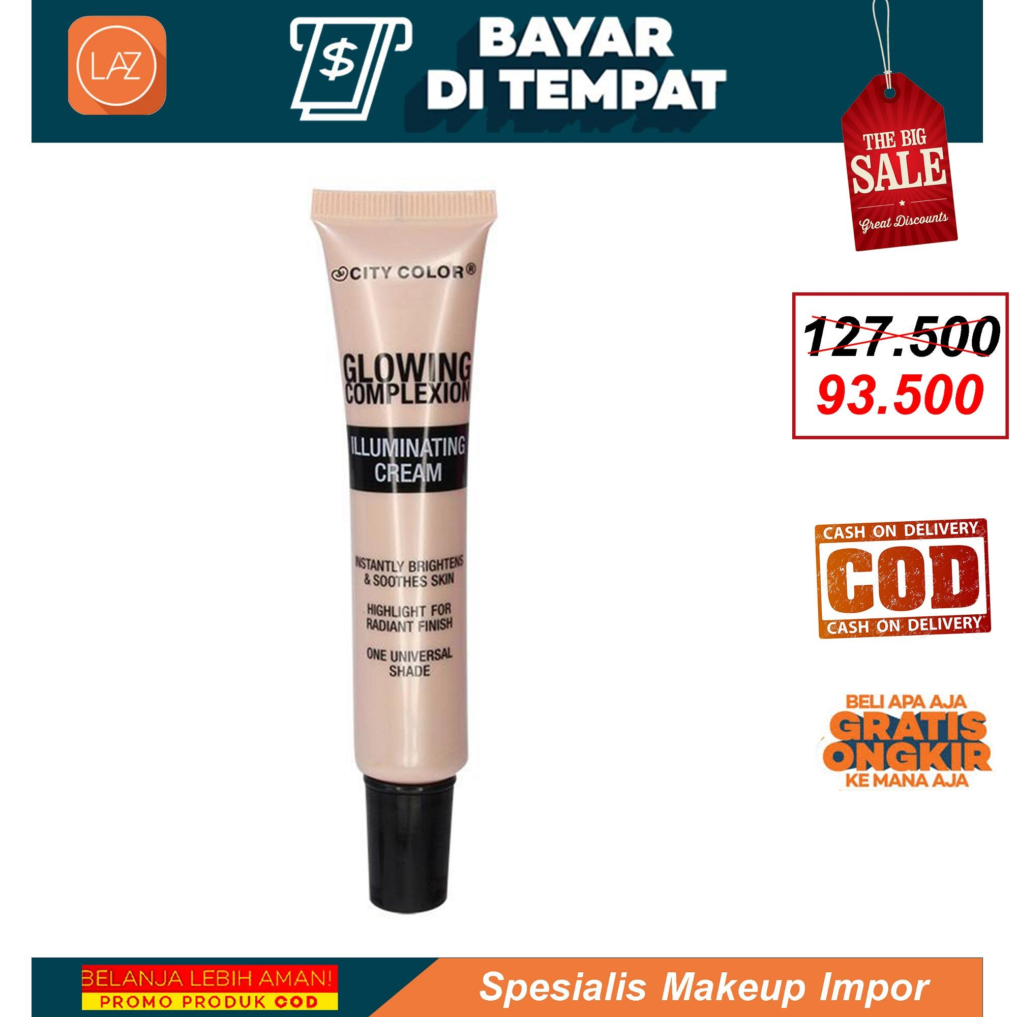 Make Up City Color Murah Lengkap Brow Quad Medium Glowing Complexion Illuminating Cream Highlighter Makeup Original Spesialis Impor