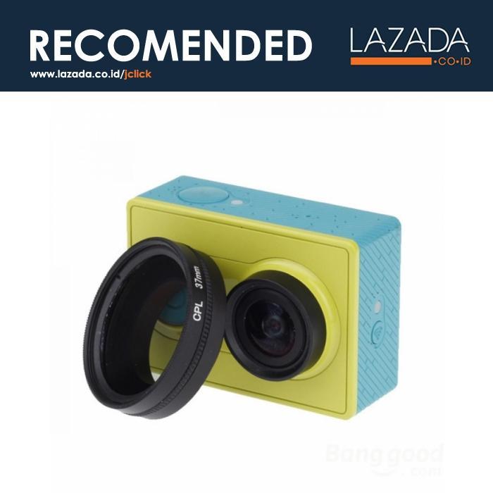 CPL Filter Lens Accessory 37mm for Xiaomi Yi - Warna Hitam [ Kategori : Kamera /