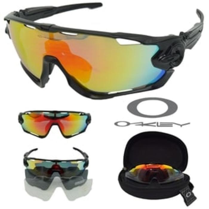 Harga Spesial!! Kacamata Oakley Ldrd Outdoor Sport Rider Polarized Include 3 Lensa - ready stock