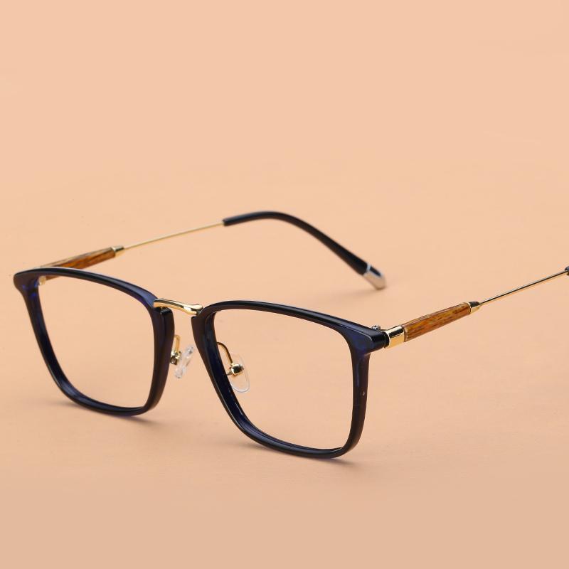 Bingkai kacamata pria bingkai lengkap Gaya Korea pasang retro hitam TR90  Bisa dipadukan rabun dekat Bingkai b0a25c583f