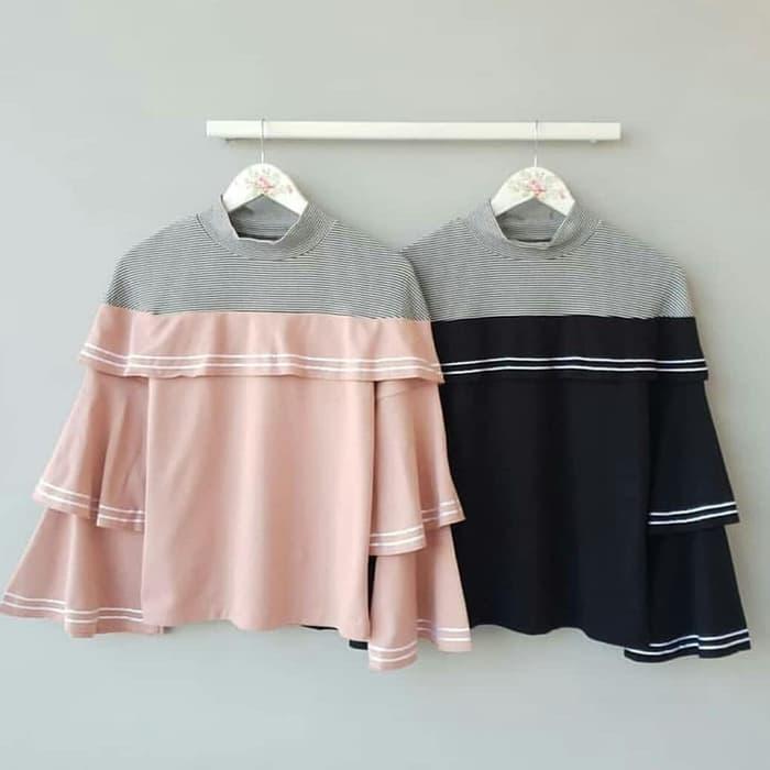 Ilyasshop Rifka Blouse S Hijab Fashion Wanita - Wikie Cloud Design Ideas 21255be0d1