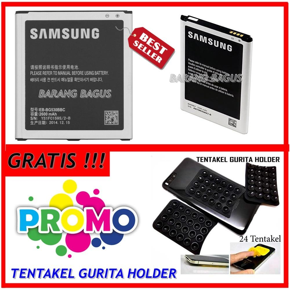 Samsung Baterai Battery Galaxy Grand 2 / G7106 Original - Kapasitas 2600mAh + Gratis Holder Gurita