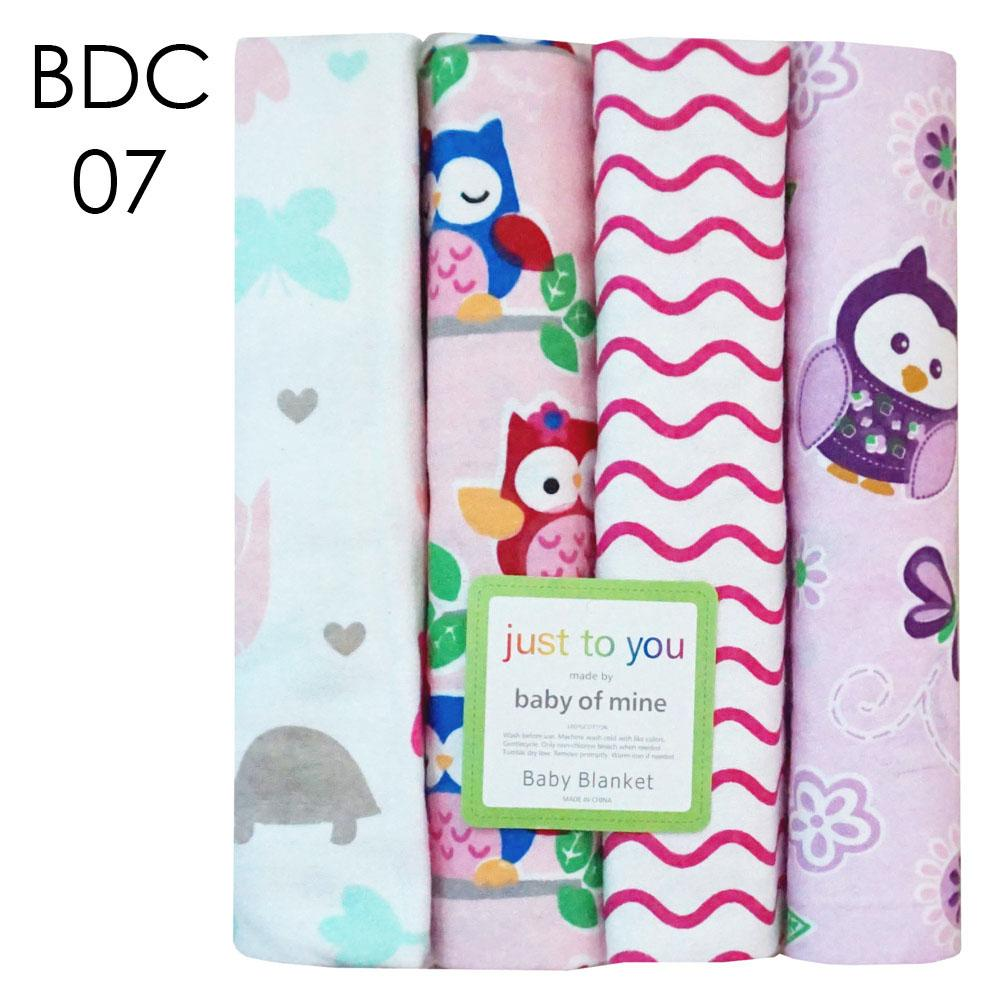 Buy Sell Cheapest Kain Bedong Carter Best Quality Product Deals Bedongan Bayi Carters Just To You 100x75cm Motif Bdc 07 Isi 4
