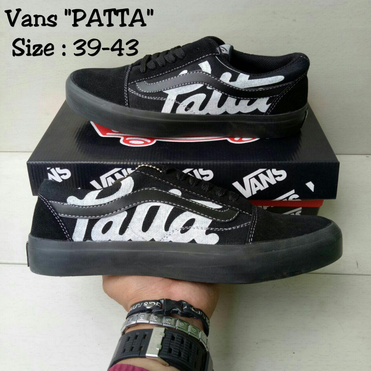 Vans Patta Black list black