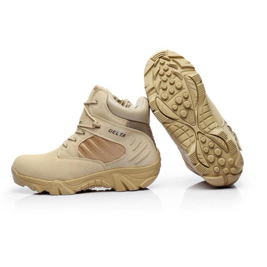 Sepatu Delta Boots Tactical Army - Gurun