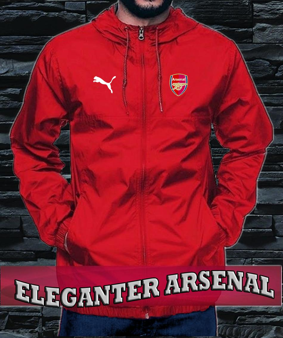 Buy Sell Cheapest Jaket Arsenal Red Best Quality Product Deals Jakarta Couple Kemeja Pria Club Bola