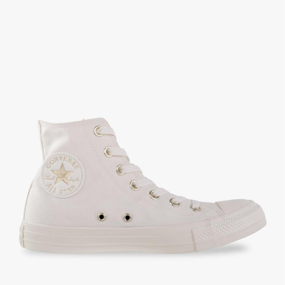 Converse Chuck Taylor All Star Hi Women's Sneakers Shoes - Putih