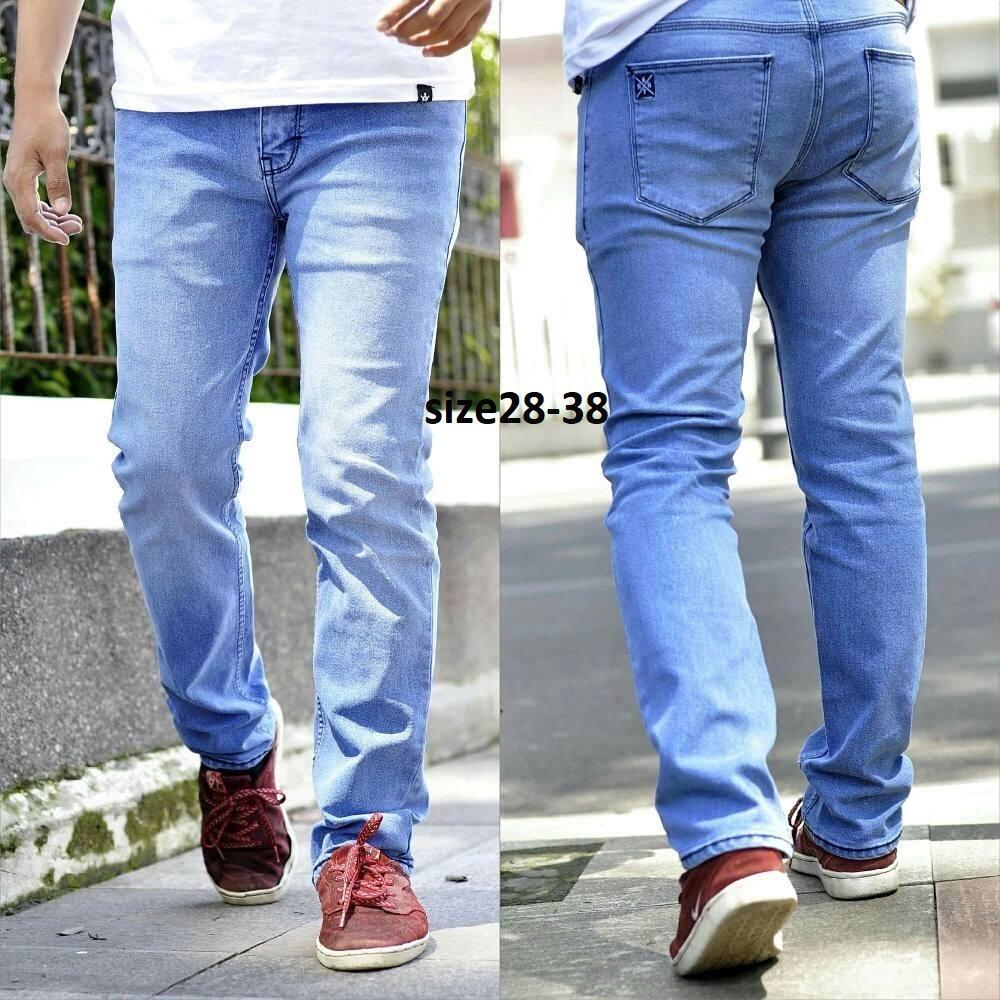 SH BLACKFIELD Celana jeans pria model skiny fit pria