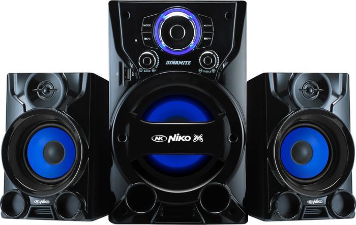 Niko Dinamite Slank Speaker Aktif Multimedia 55 Watt Dengan Bluetooth