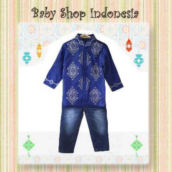 Setelan Baju Anak Import Setelan Baju Anak Murah Baju Koko Anak Murah Baju Koko Anak Elegant Blue Kotak