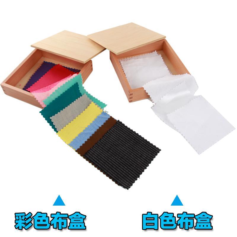 Montessori Mainan bayi Montessori Mainan bayi pendidikan usia dini pendidikan usia dini mainan 6 putih kotak