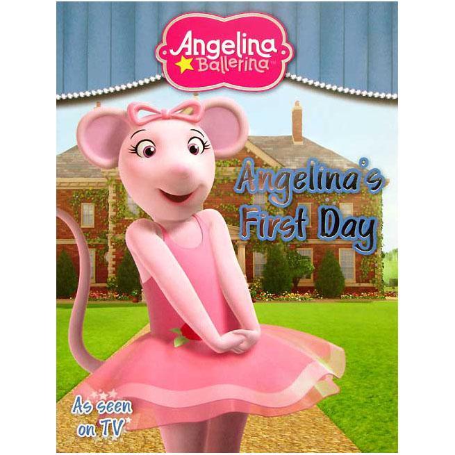 Terlaris Buku Cerita Anak Angelina Ballerina - Angelinas First Day Story Book Buku Dongeng Bergambar