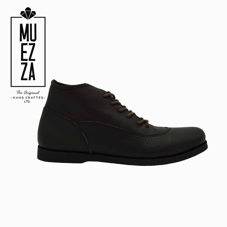 DSH Sepatu Model Brodo Boots Kulit / Sepatu Pria Dan Wanita Erudite Muezza Vulca Kulit Asli