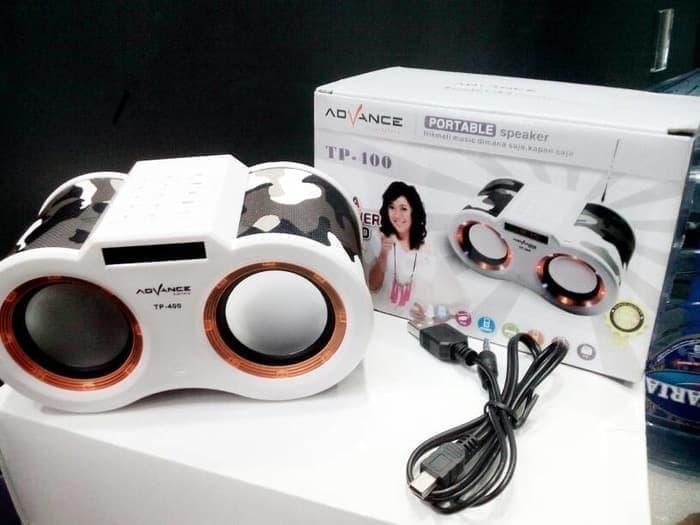 Speaker Aktif Advance TP 400 Subwoofer FM Radio Usb -  Speaker -  Audio -  Elektronik Terbaru - Speaker Aktif - Best Seller - Speaker Usb  - Speaker Portabel - Speaker Murah - Speaker Laptop