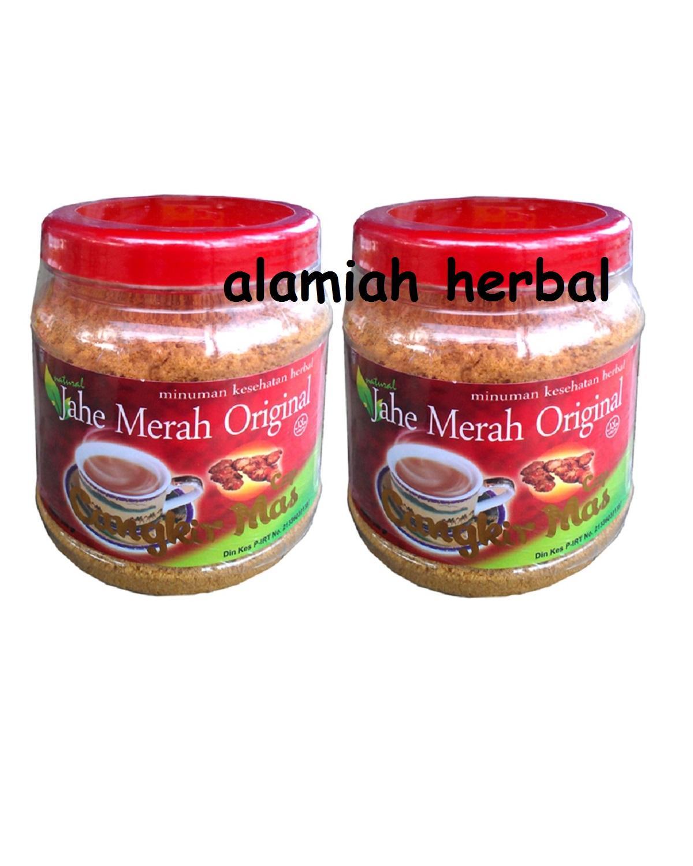Alamiah herbal- Jahe Merah Cangkir Mas Original - Paket 2Pcs
