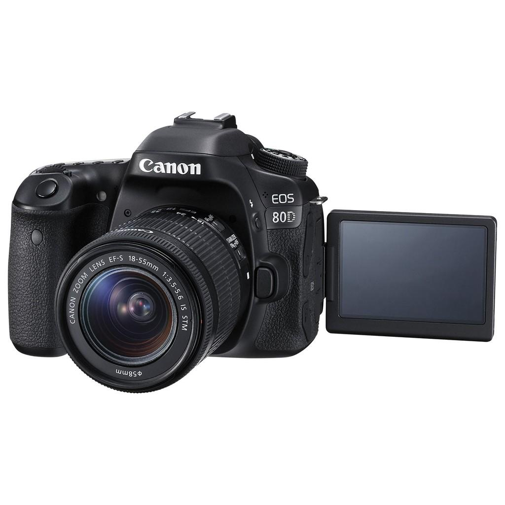 Canon Digital Camera EOS 80D with lens EF-S18-135 IS USM WiFi