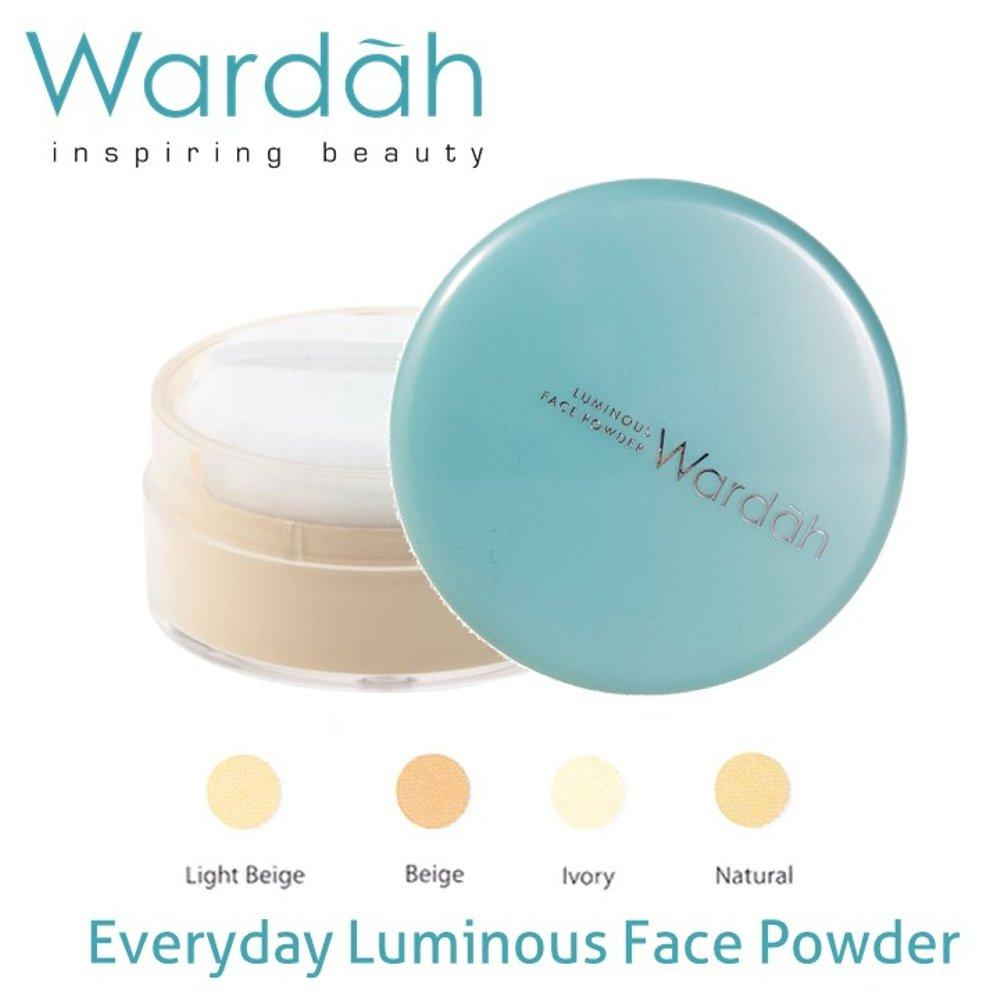 Wardah Everyday Luminous Face Powder - Bedak Tabur - 04 Natural
