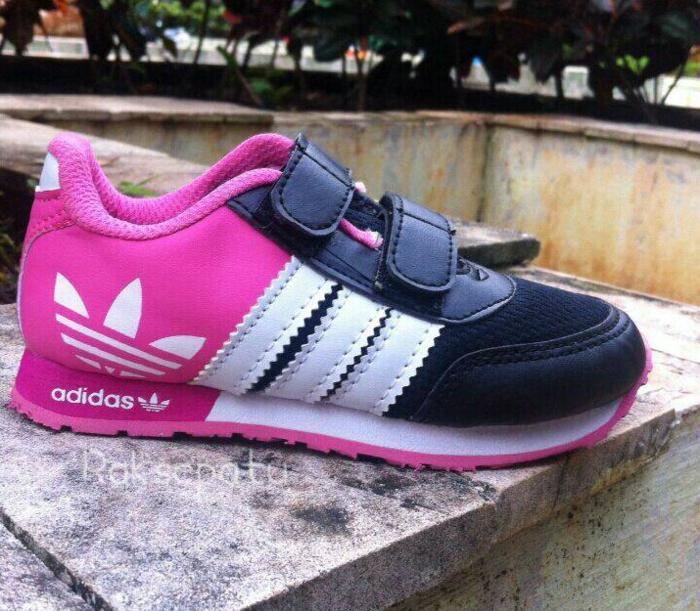PROMO Sepatu Anak Adidas Neo - Warna Pink TERLARIS