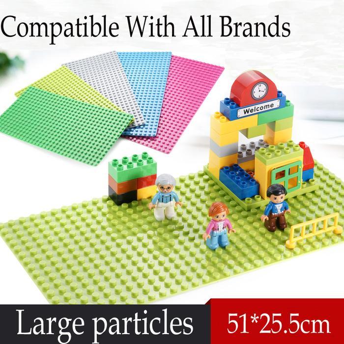 BEST SELLER!!! Lego duplo baseplate xl size 51 x 25.5 cm - u2sWvs