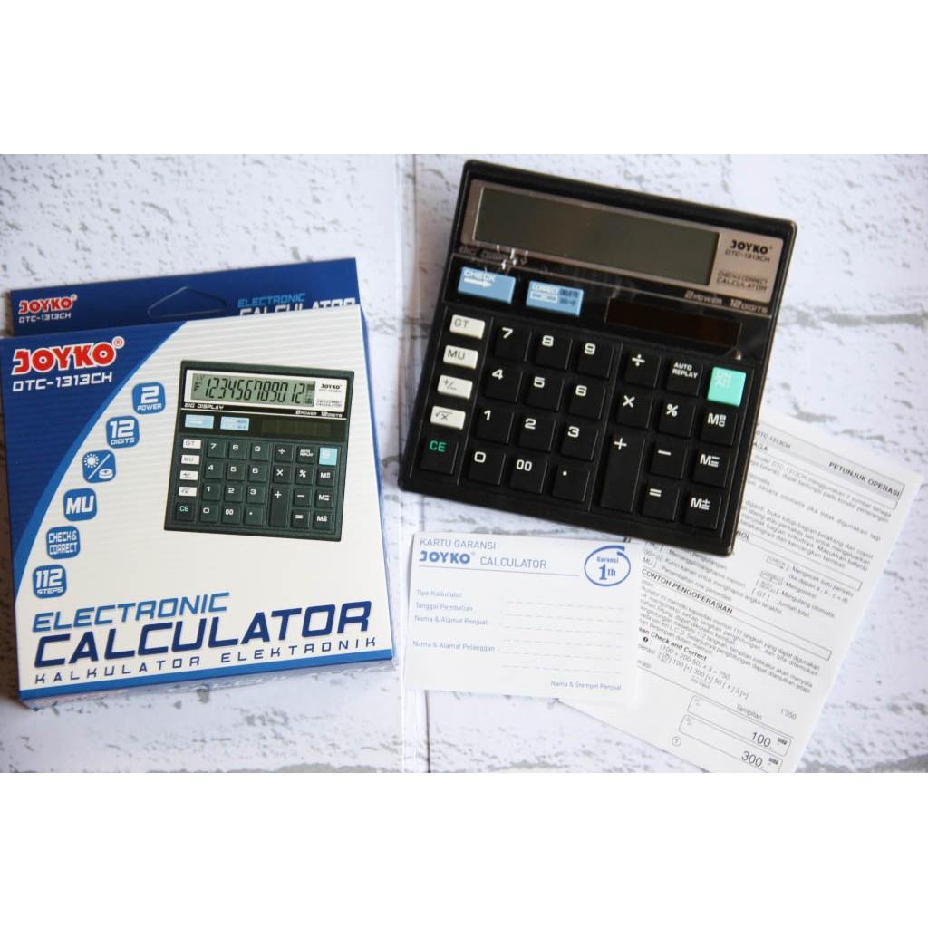 Kalkulator Joyko (12 Digit) DTC-1313CH