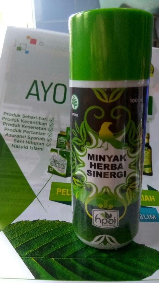 Minyak Herba Sinergi, Minyak Ampuh yang bikin cepet Sembuh