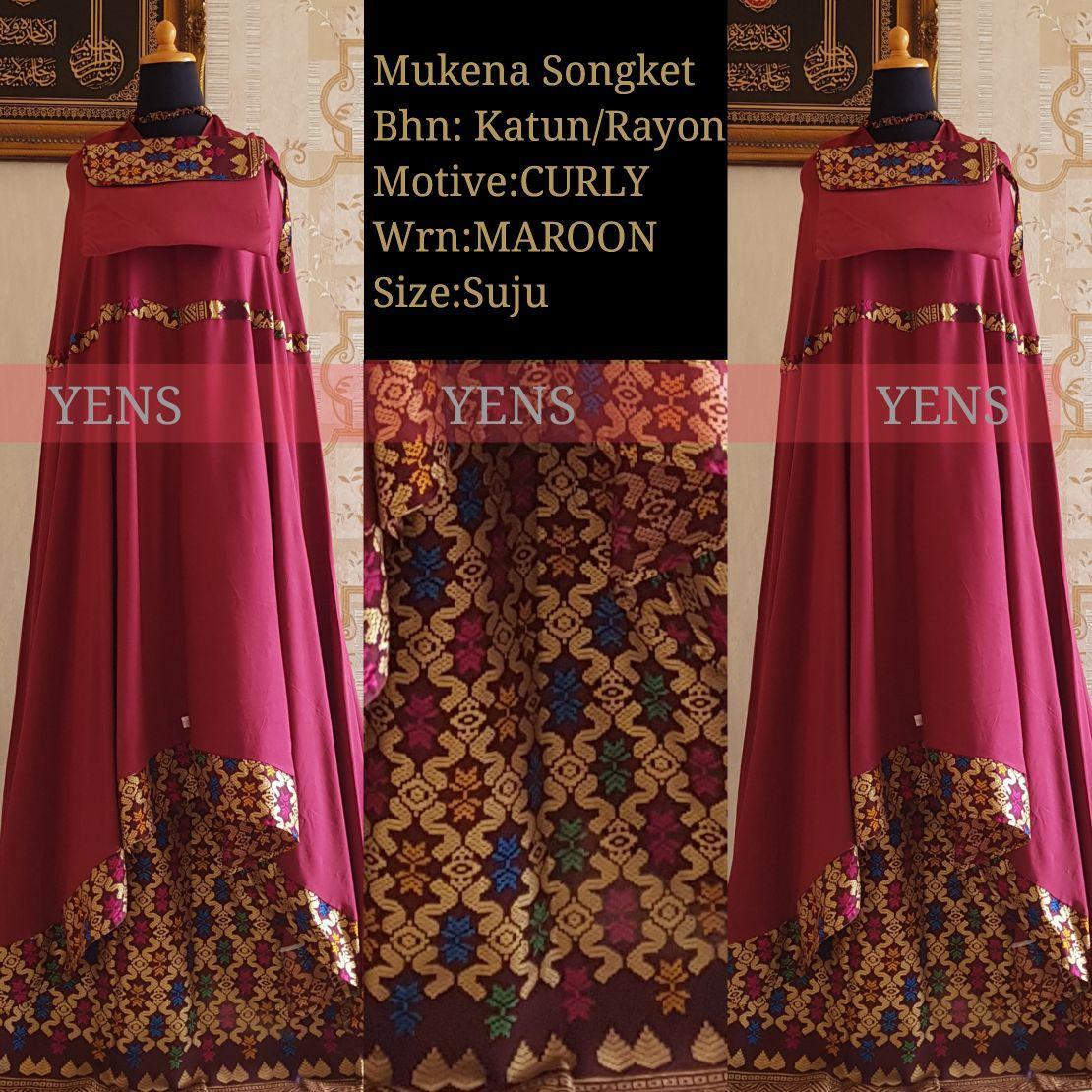 Mukena Bali Songket Curly