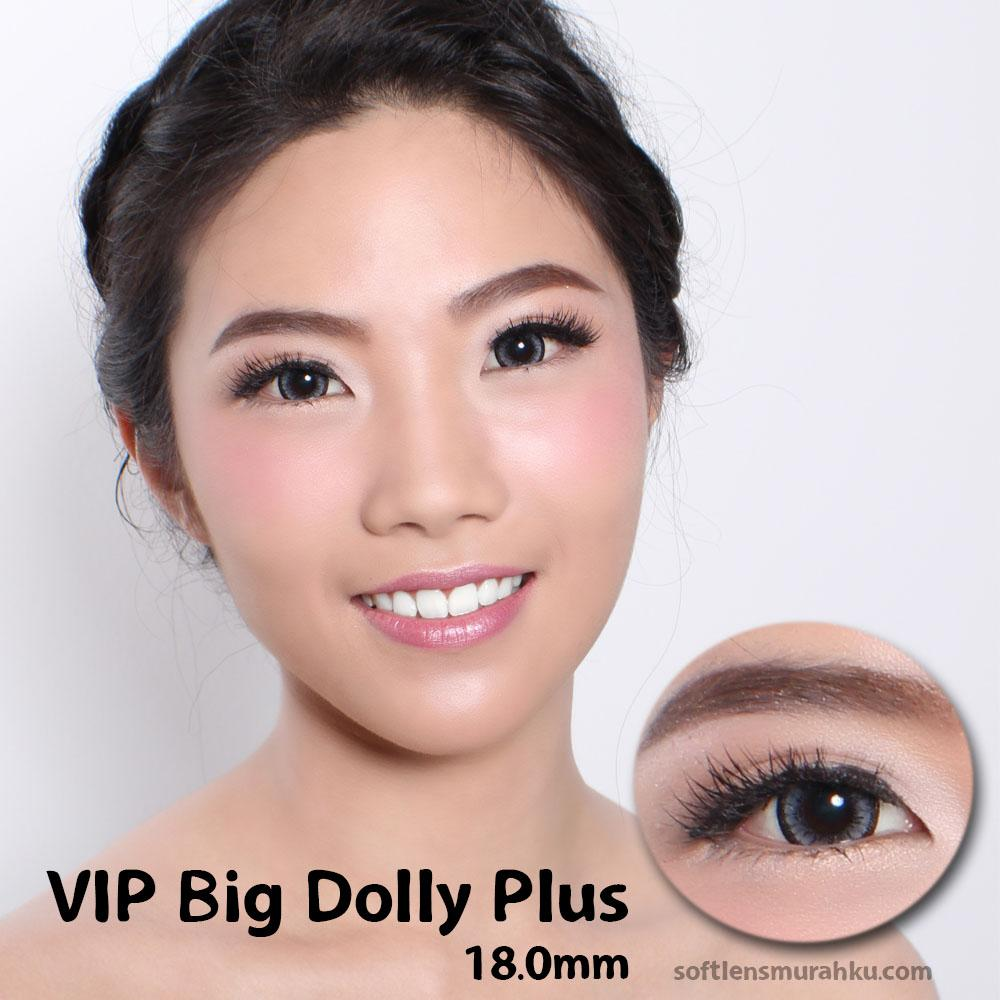 Buy Sell Cheapest Softlens Skysoul Big Best Quality Product Deals X2 Shin Manga Soflen Lensa Kontak Vip Dolly Plus Grey Gratis Lens Case