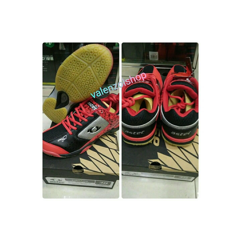 Sepatu Badminton Astec Kratos Red - ORIGINAL