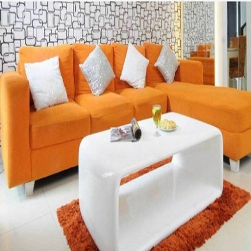 sofa minimalis model sudut varian baru WA Seller lazada 0858258090082