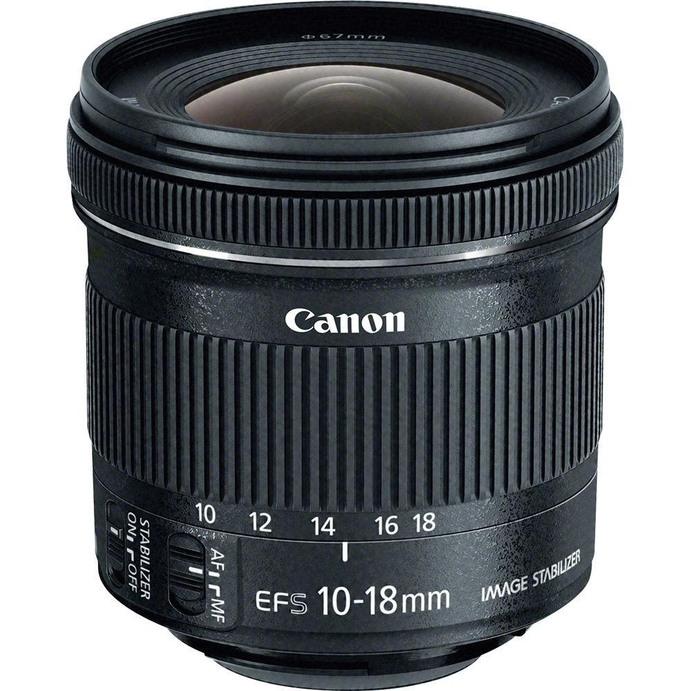 Canon Lens EF-S10-18mm f/4.5-5.6 IS STM