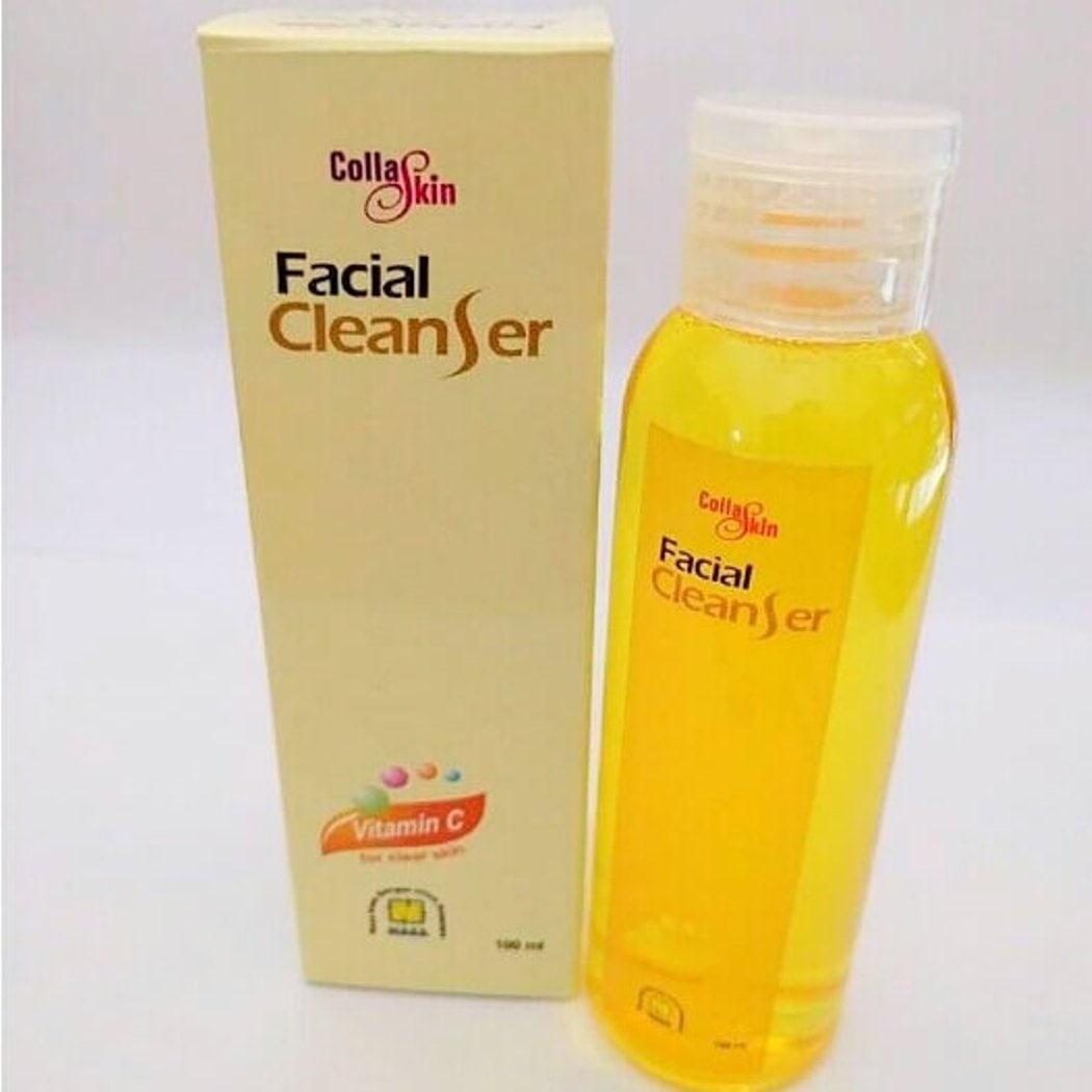 LOKA COD - Collaskin Facial Cleanser NASA Original BPOM - Sabun Cair Pembersih Wajah - Sabun Muka Collagen - 100ml
