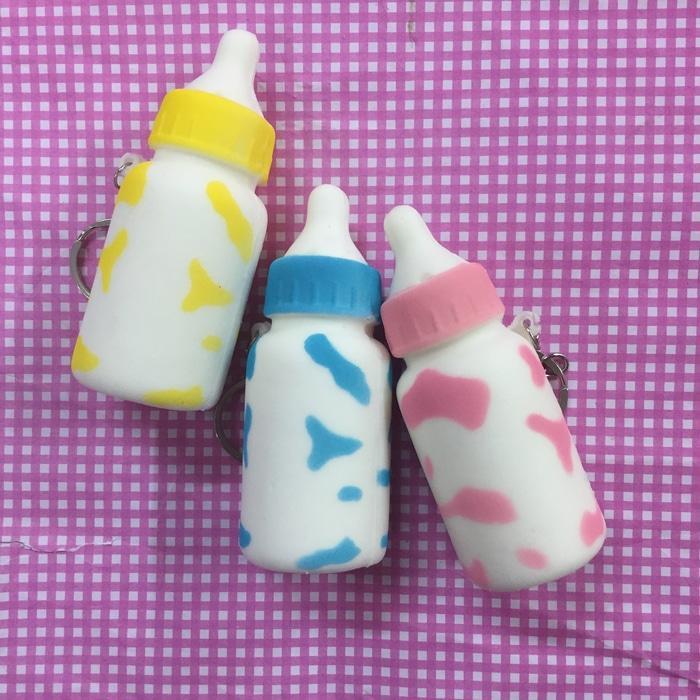 Promo Squishy replika mini milk bottle Original