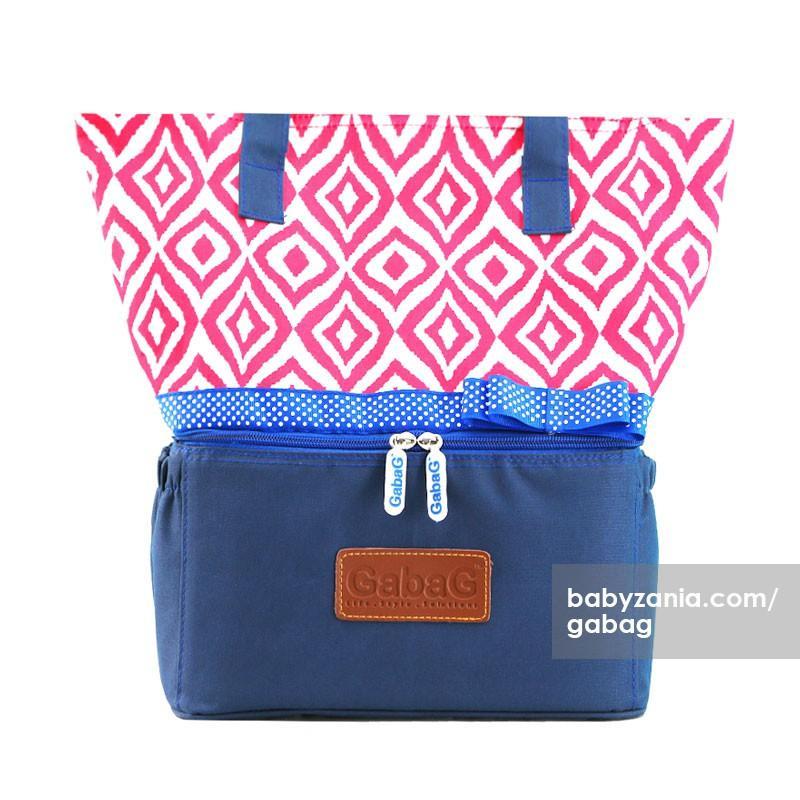 Gabag Thermal / Cooler Bag ULOS - Tas Penyimpan ASIP (Free 2 Ice Gel)