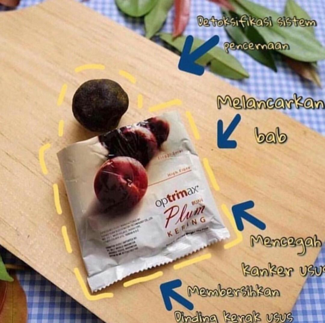 Buy Sell Cheapest 10 Pcs Buah Best Quality Product Deals Potong Fruit Vegetable Ikan Kantongan Optrimax Plum Kering Diet Detox