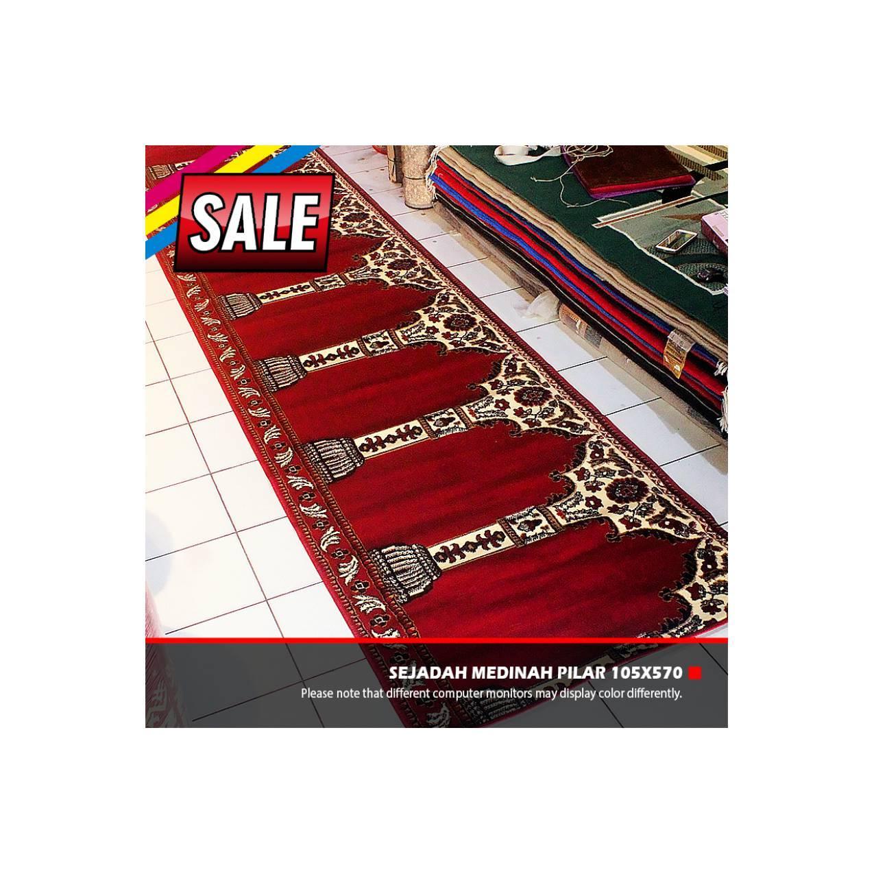 SALE Sajadah Karpet Mesjid Medinah Pilar 105x570cm MURAH BANGET...