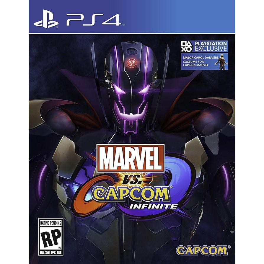 Promo PS4 GAME MARVEL VS  CAPCOM  INFINITE DELUXE EDITION REG 2 Limited