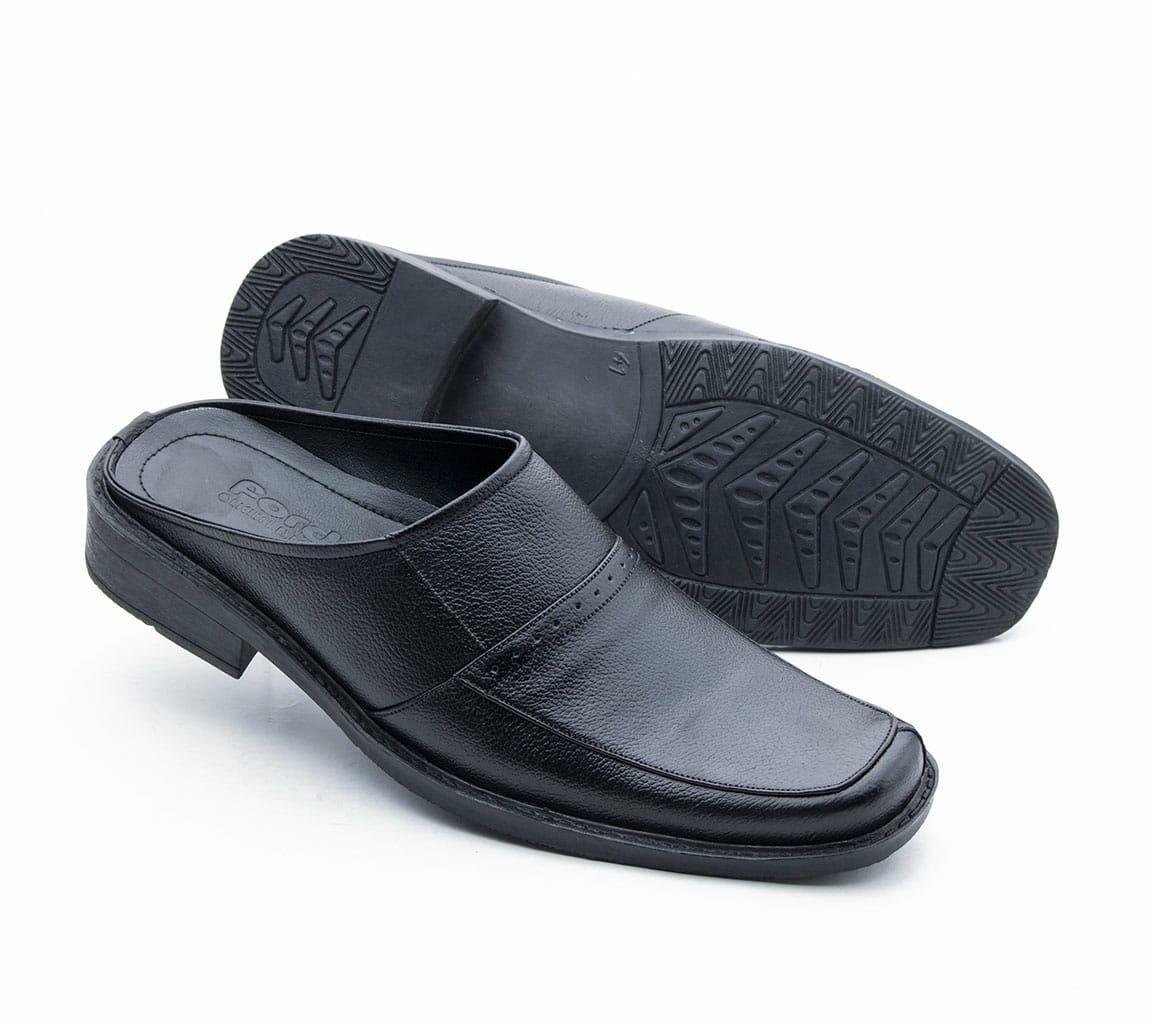 Sandal Selop Pria Sepatu Kulit Rc137 Slop Formal Asli Bustong Bp 806