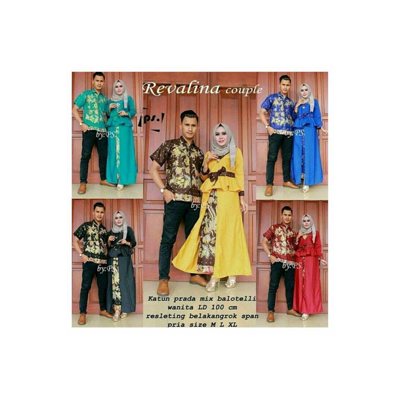 jual Couple Batik baju pasangan terbaru