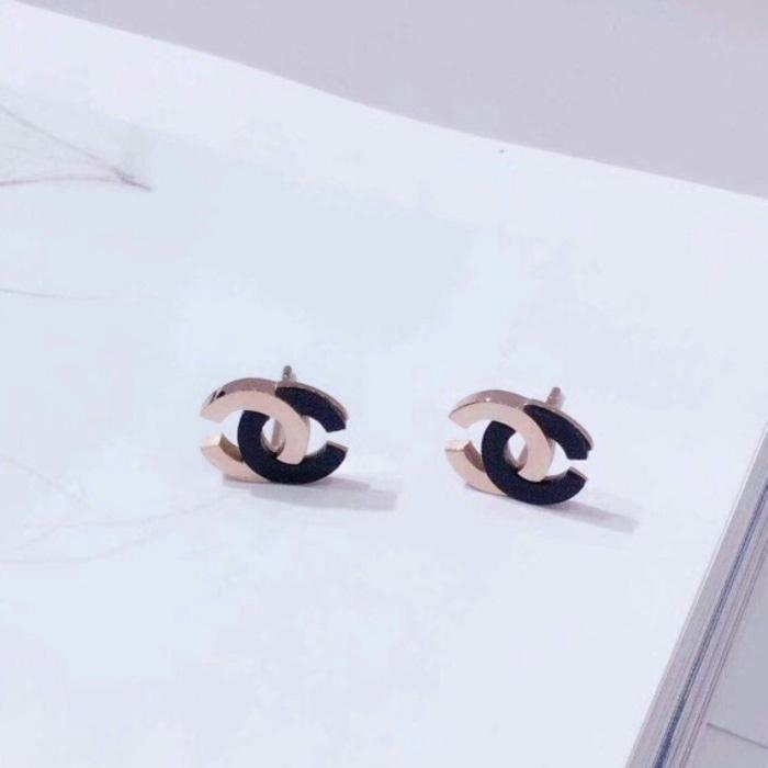 Anting Tindik Chanel Import / Earing Chanel Premium