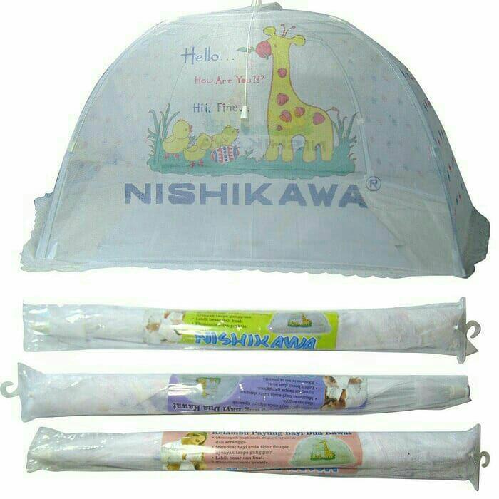 Kelambu Bayi Nishikawa Kojong Bayi Murah Bisa Di Lipat By Junior Baby Shop1.