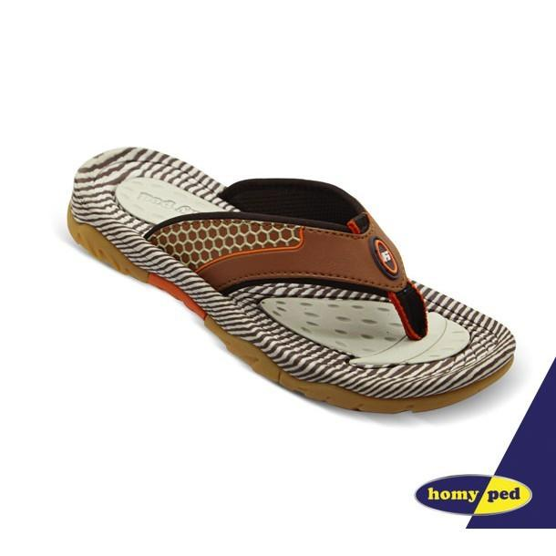 HOMYPED BEE 01 Sandal Sport Anak Brown