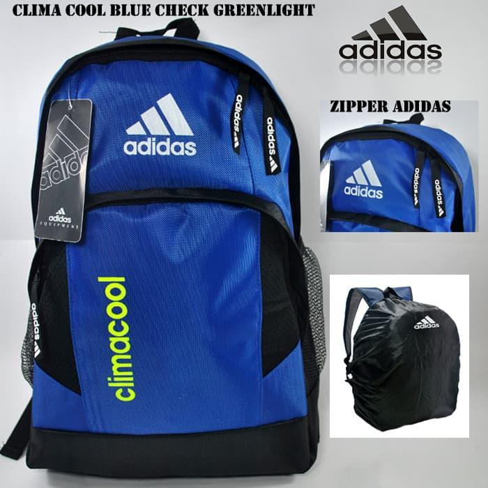 Best Top Seller!! Tas Gendong Ransel Adidas Climacool Biru Stabilo + Rc - ready stock